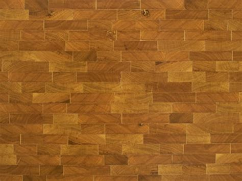 endgrain white oak tiles parquet