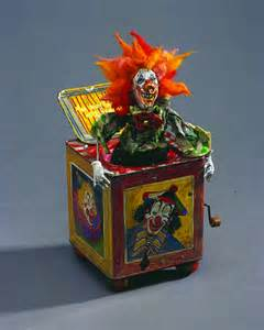 Scary Jack in the Box Toy
