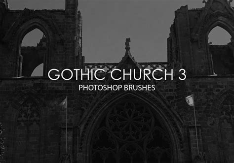 Free Gothic Church Photoshop Brushes 3