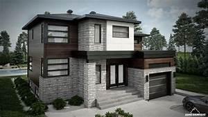zone sismique habitation malie maison moderne 3d modele 2 With plan des maisons modernes