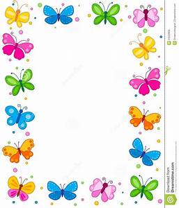Butterfly Border Royalty Free Stock Photos Image: 24222858