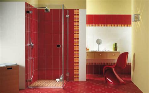 Badezimmer Fliesen Rot by Rote Wand 50 Ideen Mit Wandfarbe Rot