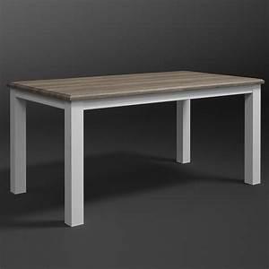 Tisch Eiche Weiß : esstisch chateau tisch esszimmertisch wei und san remo eiche 02 ebay ~ Indierocktalk.com Haus und Dekorationen