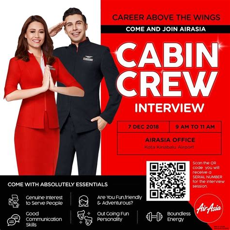 cabin crew vacancies uk airasia cabin crew walk in kota kinabalu