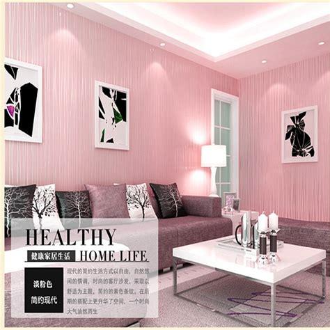 arrival pink color bedroom wallpaper plain color