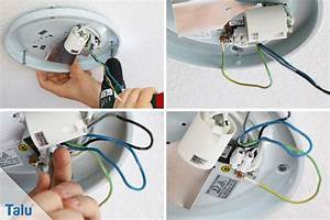 Led Streifen Anschließen Anleitung : lampe installieren swalif ~ Markanthonyermac.com Haus und Dekorationen