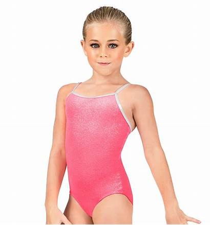 Leotard Camisole Child Shimmery Dancewear Velvet