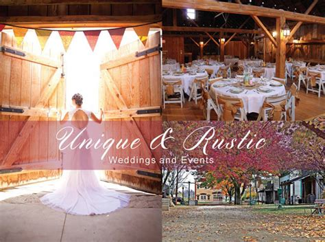 midway village museum rustic barn wedding venues