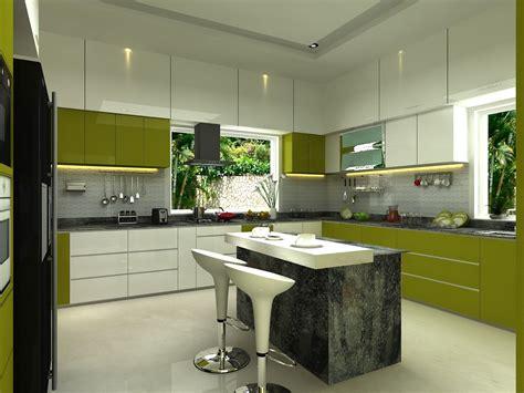 modern bright kitchen   modern style amenities