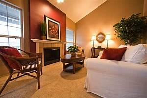 Burgundy, Living, Room, Color, Schemes