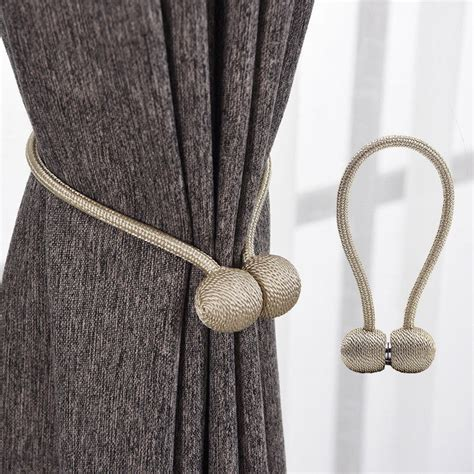 Drape Holders - uk magnetic curtain clip holder buckle tieback