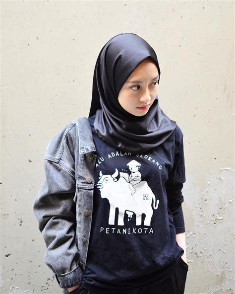 pin oleh maulidani  ootd hijab   hijab ootd  model pakaian hijab