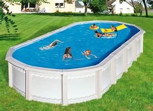 Piscine Hors Sol Metal : piscine hors sol 6 x 4 ~ Dailycaller-alerts.com Idées de Décoration