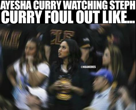 Ayesha Curry Memes - nba memes on twitter quot ayesha curry watching steph curry foul out warriors cavs nbafinals