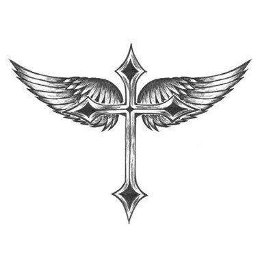 Tatouage Avec Une Croix  Dark Side Tattoo