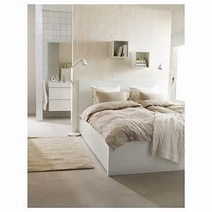 Lit Ikea 160 : malm cadre lit haut 4rgt blanc 160 x 200 cm ikea ~ Teatrodelosmanantiales.com Idées de Décoration