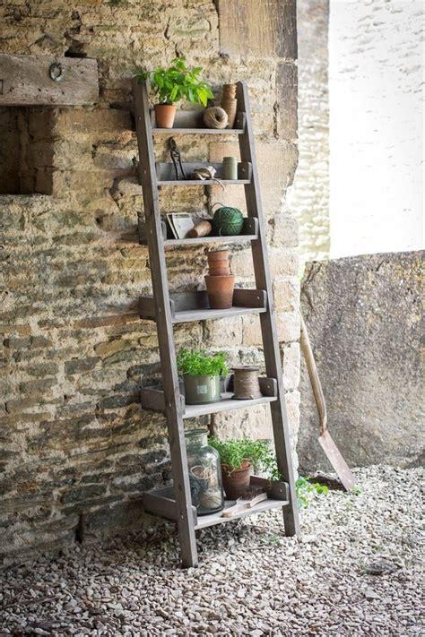 Teak Bookcase by 10 Easy Pieces Stepladder Plant Stands Gardenista