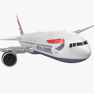 3D max Boeing 777 8x 777