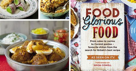 cuisine tv free food glorious food six great tried and tested family recipes from the tv mirror