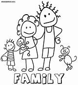 Coloring Pages Printable Unique Family6 Coloringway sketch template