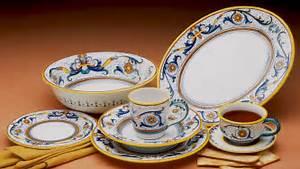 Artistica Hand Painted Italian Ceramics - Deruta
