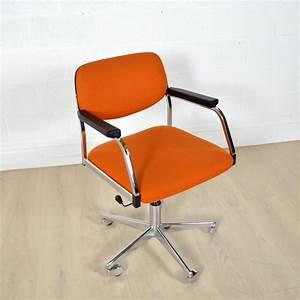 Chaise Bureau Vintage : chaise bureau vintage sofag ~ Teatrodelosmanantiales.com Idées de Décoration