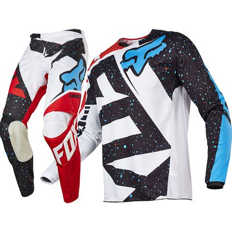 kids motocross jersey fox 2017 kids mx new 180 nirv red white jersey pants