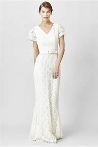 c39est ma robe rachel zoe robe longue en dentelle blanche With robe mi longue dentelle