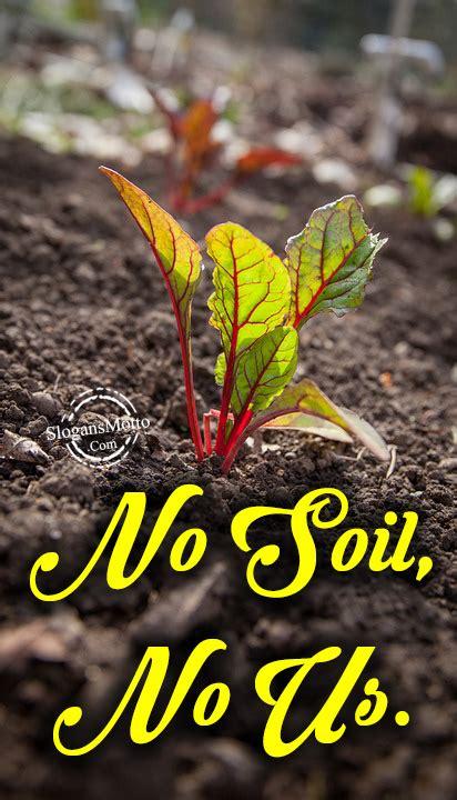 soil conservation slogans