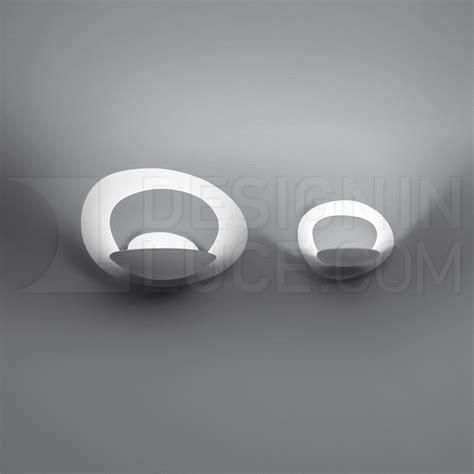 artemide pirce micro led lampada da parete designinluce