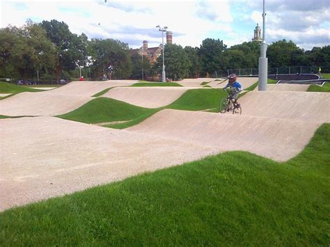 Olympic Legacy BMX Track Opens In Burgess Park   Londonist