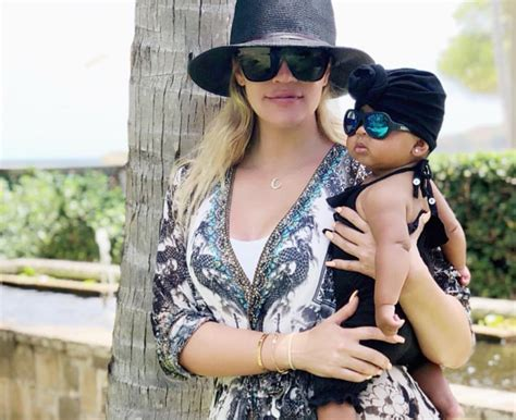 Kim Kardashian Shares Adorable Picture Of Baby True With A ...
