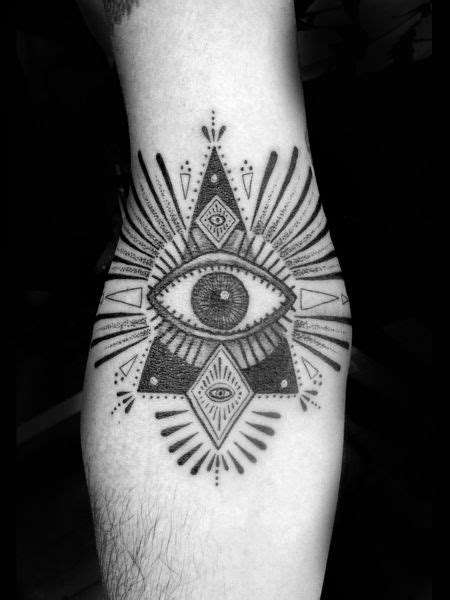 Awesome black eye tattoo - | TattooMagz › Tattoo Designs