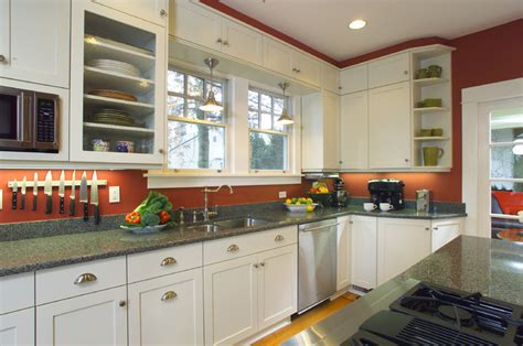 wrapping  soffit   windows  panels traditional kitchen portland  designer