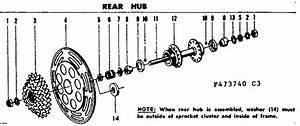 Sears 502473740 Cycling Parts