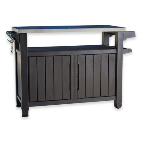 keter unity  weather outdoor bbq entertainment storage