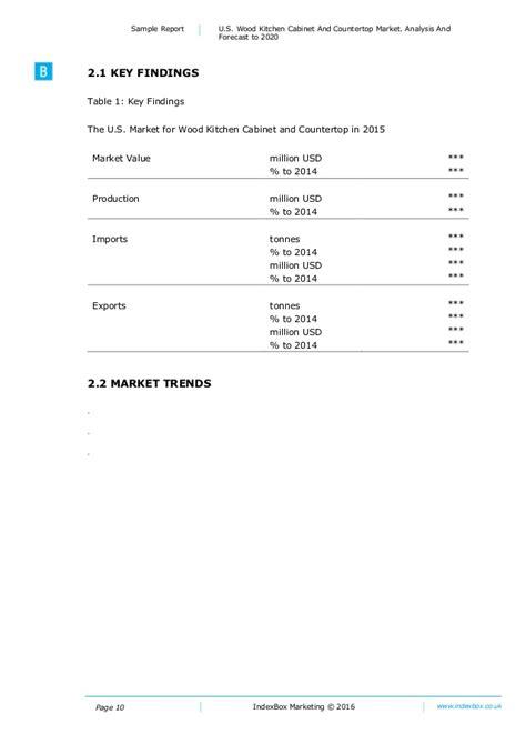 kitchen cabinet industry statistics u s wood kitchen cabinet and countertop market analysis