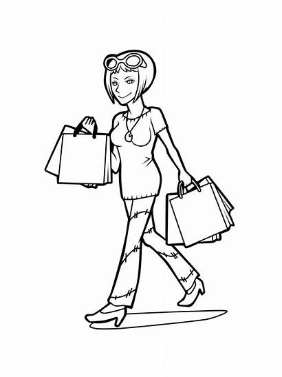 Shopping Coloring Printable Bright Choose Colors Favorite