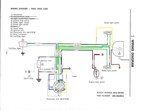 Light Wiring Diagram by Puch Wiring Moped Wiki