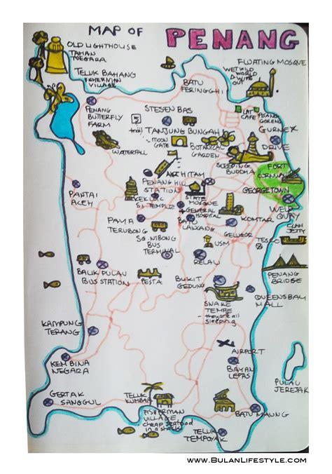 sketch   day  map  penang bulanlifestylecom