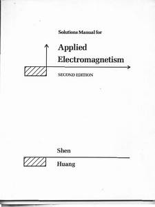 Solutions Manual For Shen And Kong U0026 39 S Applied