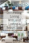 Living Room Color Ideas For Dark Brown Furniture by Decorating With A Brown Sofa