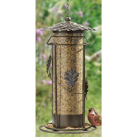 metal leaf bird feeder 439315 bird houses feeders