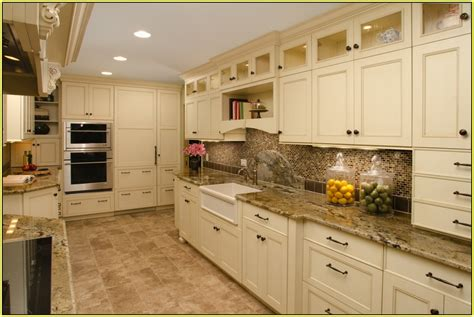 brown cabinets with white countertops white cabinets with brown granite countertops fantastic