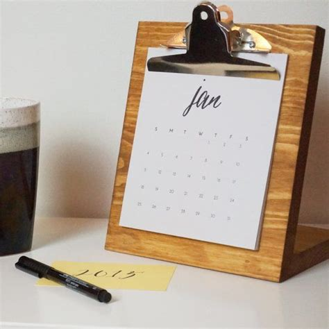 make a desk calendar with pictures desk calendars calendar and desks on pinterest