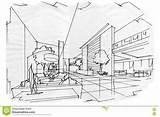 Lobby Sketch Ingresso Schizzo Prospettiva Interno Bianco Nero Binnenlands Binnenlandse Ontwerp Hal Wit Zwart Perspective Template Innenarchitektur Skizzieren Schwarzweiss Sie sketch template