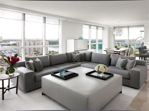 canapé christian liaigre high rise living and dining room benjamin hgtv