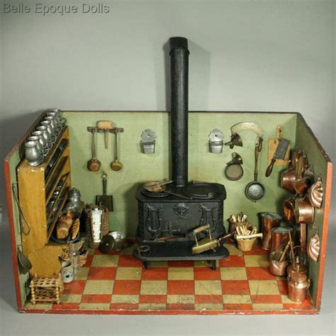 antique dolls houses rooms outstanding early kitchen