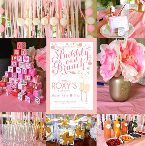 baby boy shower themes decorations a bubbly and brunch baby shower sohosonnet creative living