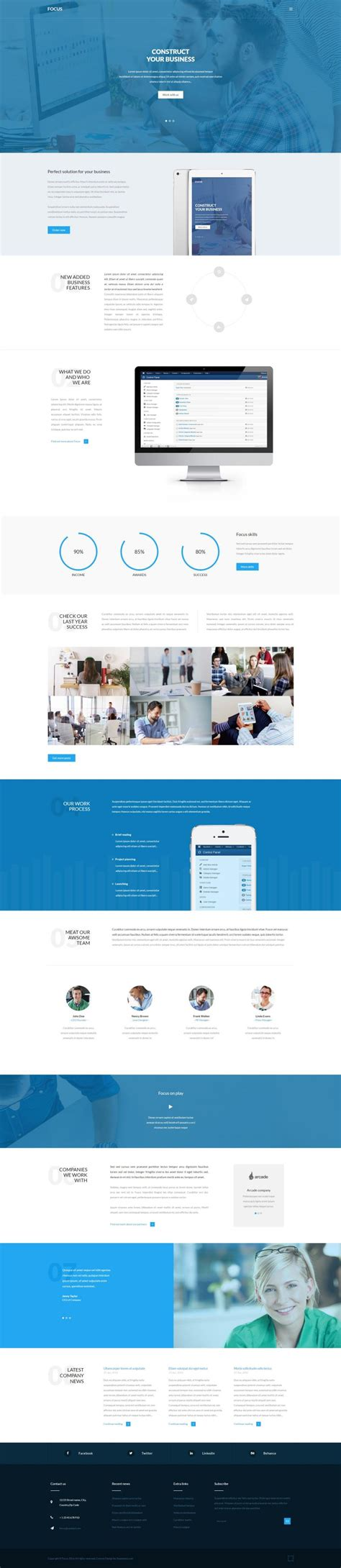 businees 2 joomla template focus business joomla template
